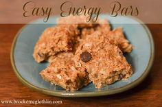 Easy Energy Bars for the Weary Mom