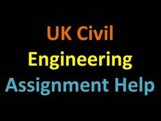 Civil Engineering assignments are always tough and need lot of precision to get correct results.