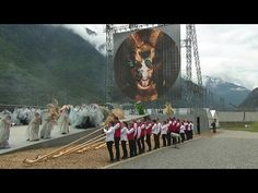 Bizarre Opening Ceremony For Gotthard Base Tunnel In Switzerland PART 2 - YouTube