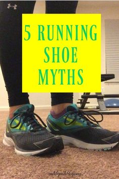 Have you heard any of these myths about running shoes? Here are some facts about choosing and replacing running shoes.