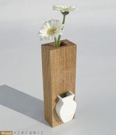 wood + ceramic