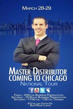 #Chicago #Today and #tomorrow Do not miss this event! It is a #FreeEvent find out what is transforming the lives of thousands and achieving #financialfreedom contact us for more info www.Levantate.WakeUpNow.com Levantate.WakeUpNow@gmail.com #Opportunity #Business #onlineBusiness #Entrepreneur #HomeBusiness #savings #Managing #MakeMoney