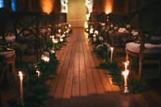 candlelit ceremony I Canvas & Canopy Events I florals: Eucca Floral Studio I Max & Friends photography