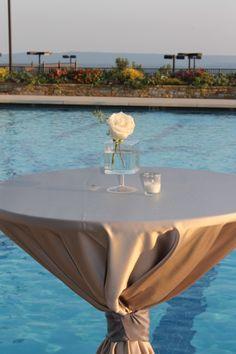 Poolside Wedding at VCC! #vccweddings