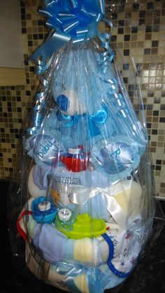 Nappy Cakes 2 0r 3 tier by NjoyCandles on Etsy