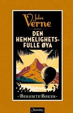 """""""Den hemmelighetsfulle øya"""" av Jules Verne Jules Verne, Barn, Reading, Books, Kids, Livros, Infants, Children, Book"""