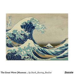 Carte Postale La grande vague (qualité de musée)