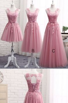 Customized Comely Long Bridesmaid Dresses Bridesmaid Dresses Lace Pink Bridesmaid Dresses - Pink Dresses - Ideas of Pink Dresses - Pink Bridesmaid Dresses Prom Dress Lace Bridesmaid Dress Prom Dress Long Prom Dress Pink Evening Dress, Evening Dresses, Formal Dresses, Tulle Prom Dress, Lace Dress, Tulle Lace, Pink Tulle, Pink Lace, Pink Bridesmaid Dresses Long