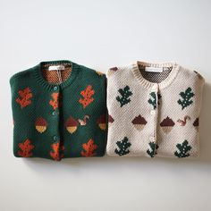 Acorn sweaters
