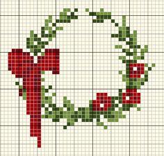 Small Xmas Wreath • Chart