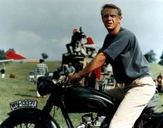 1964 The Great Escape – Steve McQueen