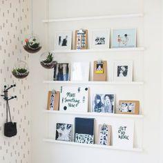 Une étagère lumineuse - Marie Claire Idées
