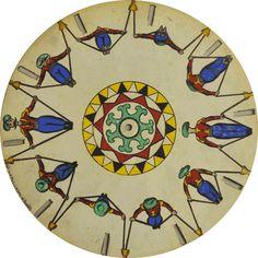 Phenakistoscope, England, 1833 Courtesy of the Richard Balzer Collection Gif Animé, Animated Gif, Persistence Of Vision, Trippy Gif, Best Graffiti, Gif Collection, Mandala, Cinemagraph, Animation