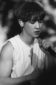 chanyeol black and white Baekhyun Chanyeol, Exo K, Baekyeol, Chanbaek, Jikook, Shinee, Fanfiction, Music Genius, Kim Minseok
