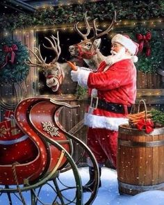 I love this kind of Christmas pictures so much! what kind of picture. - Happy Christmas - Noel 2020 ideas-Happy New Year-Christmas Magical Christmas, Christmas Past, Beautiful Christmas, Christmas Holidays, Xmas, Christmas Scenes, Christmas Pictures, Vintage Christmas Photos, Saint Nicolas