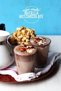 Super Simple Nutella Hot Chocolate | The Sugar Hit