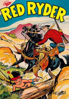 A cover gallery for the comic book Red Ryder Comics Old Comic Books, Vintage Comic Books, Comic Book Covers, Vintage Comics, Vintage Stuff, Vintage Posters, Classic Comics, Classic Cartoons, Old Comics