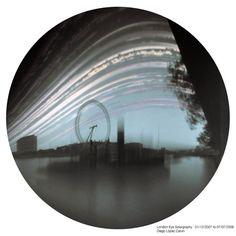 London Eye Solargraphy. 01/12/2007 to 07/07/2008 . Diego López Calvín.  Always the Sun blog de Solarigrafía