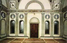 capella pazzi - brunelleschi