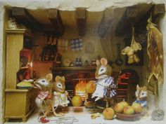 The Whittaker's Miniatures: Some Wee little Mice for Jodi and All