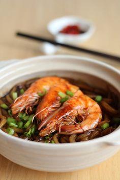 Singapore Home Cooking: Claypot Loh Shi Fun