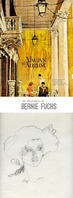 Artist Spotlight: Bernie Fuchs (on painting, illustrating, and knowing when to stop) | Beautiful Hello
