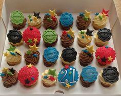 Mini 21st birthday cupcakes cupcakes 21st Birthday Cupcakes, Mini Cupcakes, Party, Desserts, Food, Tailgate Desserts, Deserts, Eten, Postres