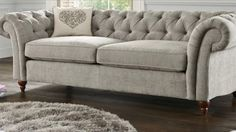 Grey Chesterfield
