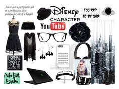 """""""if i had a youtube channel"""" by bl0nday ❤ liked on Polyvore featuring art"""