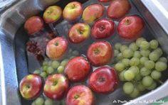 Comment détoxifier et enlever les pesticides des fruits en toute simplicité