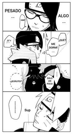 Sasuke Sakura Sarada, Naruto Team 7, Boruto And Sarada, Naruto Sasuke Sakura, Naruto Art, Naruto Shippuden Anime, Sasunaru, Shikatema, Team Konohamaru