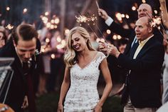 Intimate Grand Rapids wedding with a gorgeous bride and groom, and stunning lace wedding dress by Maggie Sottero.