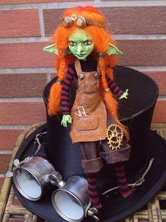 custom Monster High: Goblin Girl 1 by fuchskauz on DeviantArt