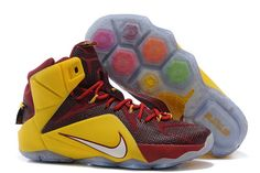 """Discount Sale Nike Brand """"For6iven"""" LeBron James Air Max 12 XII Online"""