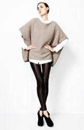 Vince Poncho, Shirt & Leggings