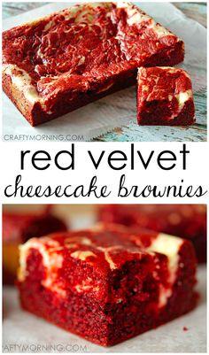 YUM!! Red Velvet Cheesecake Brownie Recipe