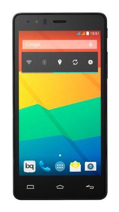 """BQ Aquaris E5 HD - Smartphone libre Android (pantalla 5"""", cámara 13 Mp, 16 GB, Quad-Core 1.3 GHz, 1 GB RAM), negro BQ"""