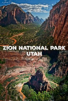 Hiking in Zion National Park, Utah // U.S. National Park: