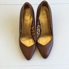 Brown Low Heels