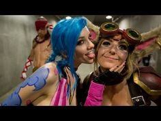 Absolute must see if you have ever played League of Legends! ...or if you just love great cosplay :) LEAGUE OF LEGENDS COSPLAY @ ANIME EXPO 2014 #MLZStudios #JessicaNigri