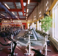 YMCA in Texas, featuring our Everlast with Nike Grind Texas, Bicycle, Athletic, Gym, Flooring, Nike, Cool Stuff, Fitness, Home Decor