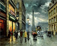 Antoine Blanchard (French: 1910-1988) | Place Vendome