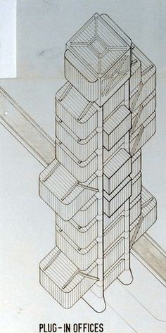 Gallery - AD Classics: The Plug-In City / Peter Cook, Archigram - 12