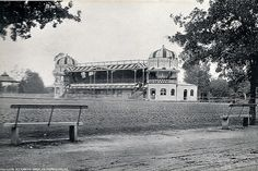 The Pavilion, Alexandra Park, Pietermaritzburg, Natal, South Africa. Taken circa Alexandra Park, Kwazulu Natal, My Family History, Victorian Architecture, African History, Historical Society, Back In The Day, Historical Photos, Ancestry