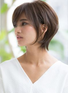 耳かけ小顔ノーブルマッシュ☆(髪型ショートヘア)
