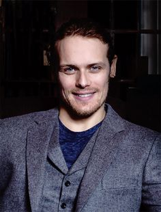 outlander-news: Sam Heughan photographed by... - Absolutely perfect....