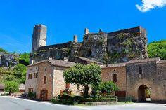 château-fort de Gavaudun. Aquitaine