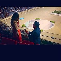 Last Saturday at the International Convention in Houston, Texas @melaniejw1 was proposed to by Daniel. She said yes! They will never forget this convention. Submit your photos etc…