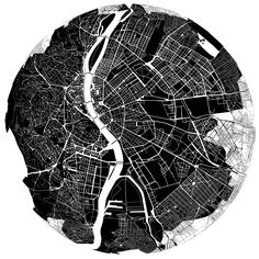 From the 'Submap' experiment om how inhabitants experience their city (2011)