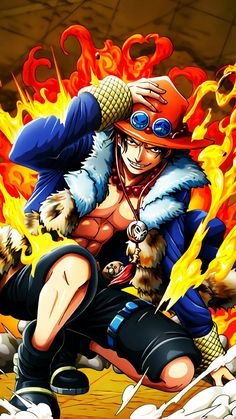 One Piece - Gol D. Roger was known as the Pirate King, the strongest and most infamous being to have sailed the Grand Line. Ace Tattoo One Piece, One Piece Ace, One Piece World, Zoro, One Piece Seasons, One Piece Wallpaper Iphone, Watch One Piece, Manga Anime One Piece, The Pirate King